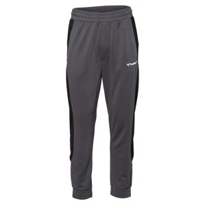 Hummel Sportovní kalhoty  šedá / černá / bílá