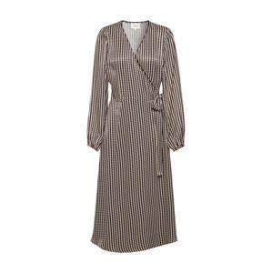 SECOND FEMALE Šaty  černá / režná