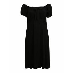 Dorothy Perkins Curve Letní šaty  černá