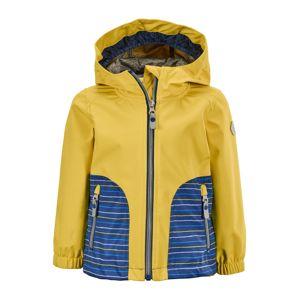 KILLTEC Outdoorová bunda  hořčicová / námořnická modř / bílá / světlemodrá