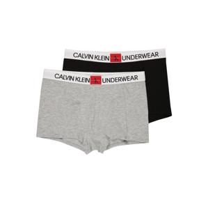 Calvin Klein Underwear Spodní prádlo  šedý melír / černá / bílá / tmavě červená