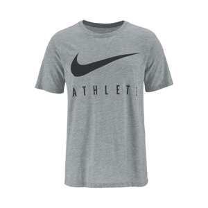 NIKE Funkční tričko 'DRY ATHLETE'  šedý melír