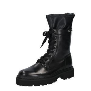 Donna Carolina Šněrovací boty  černá