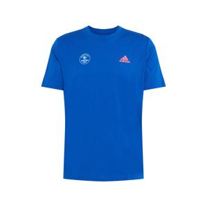 ADIDAS PERFORMANCE Funkční tričko  mix barev / modrá
