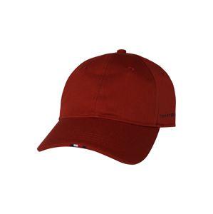 TOMMY HILFIGER Kšiltovka 'TAILORED CAP'  ohnivá červená