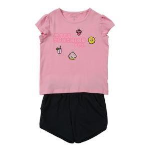 NAME IT Sada 'Zatchile'  žlutá / pink / černá