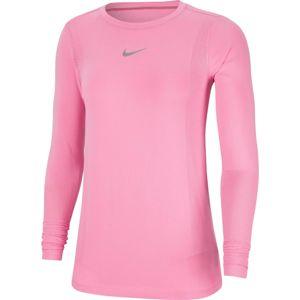 NIKE Funkční tričko 'Infinite'  světle růžová