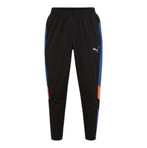 PUMA Sportovní kalhoty 'Reactive Packable'  modrá / světle červená / černá