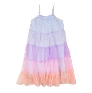 Cotton On Šaty 'Iggy'  světlemodrá / fialová / oranžová / světle růžová