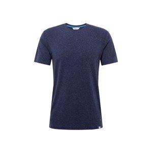 !Solid Tričko 'Argus'  tmavě modrá