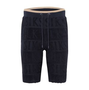 SikSilk Kalhoty  černá / béžová