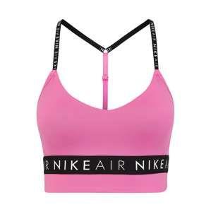 NIKE Sportovní podprsenka 'INDY AIR GRX BRA'  pink / černá