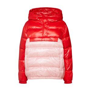 Samsoe Samsoe Zimní bunda  růžová / červená
