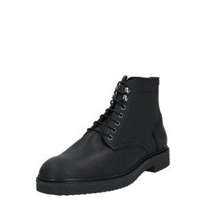 Hudson London Šněrovací boty 'Jennings'  černá