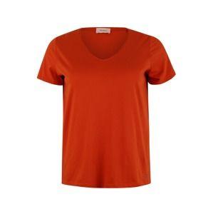 TRIANGLE Tričko  oranžově červená