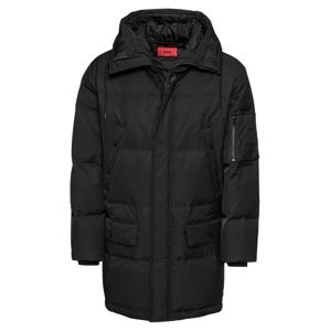 HUGO Zimní kabát 'Belmu1841 10209076 01'  černá
