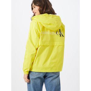 Calvin Klein Jeans Přechodná bunda 'ESSENTIAL'  žlutá