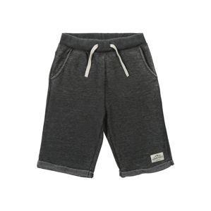 NAME IT Kalhoty 'FERAN'  černá / bílá