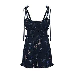 For Love & Lemons Overal 'TABLEAU ROMPER'  černá
