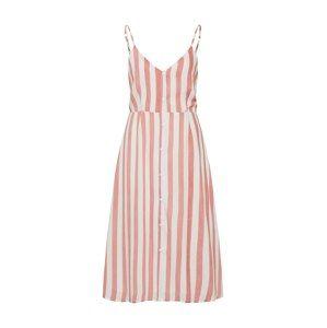 GLAMOROUS Letní šaty 'AC2251'  červená / bílá