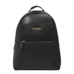 TOMMY HILFIGER Batoh 'ICONIC TOMMY BACKPACK SOLID'  černá