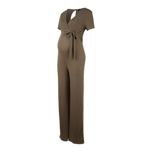 Missguided Maternity Overal  khaki