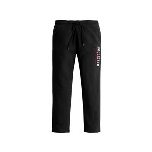 HOLLISTER Kalhoty 'MODERN'  černá / červená / bílá