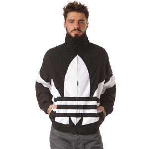 ADIDAS ORIGINALS Přechodná bunda 'Big Trefoil'  bílá / černá