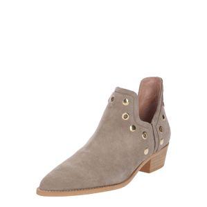 Farina Opoku Kotníkové boty  béžová