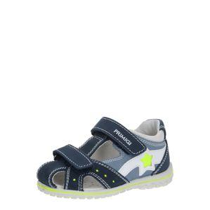 PRIMIGI Sandály  azurová / bílá / noční modrá