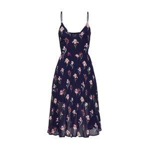 Missguided Šaty  námořnická modř / pink