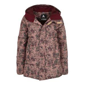 BURTON Outdoorová bunda 'MORA MOSS'  hnědá / olivová / růžová