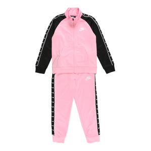 Nike Sportswear Joggingová souprava  pink / černá / bílá