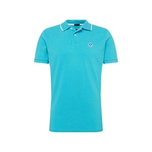 North Sails Tričko 'POLO S/S W/GRAPHIC'  modrá
