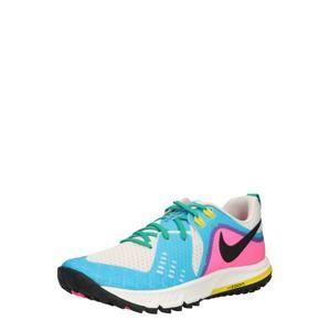 NIKE Sportovní boty 'WMNS NIKE AIR ZOOM WILDHORSE 5'  krémová / modrá / pink