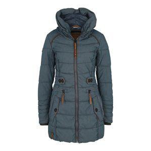 Naketano Zimní kabát  stříbrně šedá