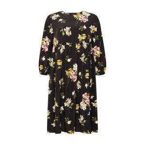 GLAMOROUS CURVE Šaty  černá / mix barev