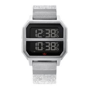 ADIDAS ORIGINALS Digitální hodinky 'Archive_R2'  světle šedá