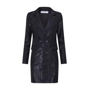 IVYREVEL Společenské šaty 'CHROME BLAZER'  černá