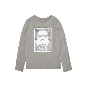 NAME IT Mikina 'NKMSTARWARS INDY LS TOP WDI'  šedá
