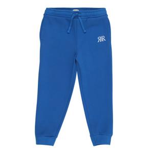 River Island Kalhoty  modrá / bílá