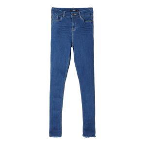 NAME IT Džíny 'High Waist Skinny Fit Ankle'  modrá