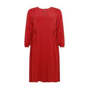 TRIANGLE Šaty  červená
