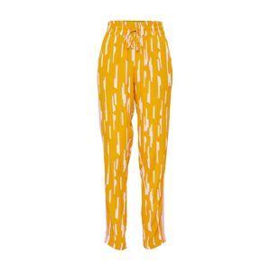 Mbym Kalhoty 'Monette'  žlutá / růžová / bílá
