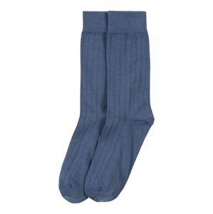 KnowledgeCotton Apparel Ponožky 'Timber'  tmavě modrá