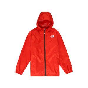 THE NORTH FACE Sportovní bunda 'ZIPLINE'  červená