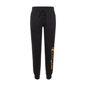 Champion Authentic Athletic Apparel Kalhoty 'Rib Cuff'  jasně oranžová / černá