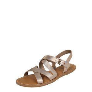 TOMS Páskové sandály 'SICILY'  zlatá