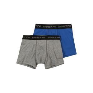 SANETTA Spodní prádlo  modrá / šedá