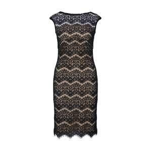 SWING Koktejlové šaty 'Cocktailkleid'  tělová / černá